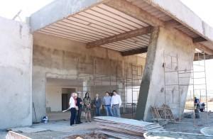 Obra foi vistoriada pelo prefeito nesta semana; construção é viabilizada pelo governo federal