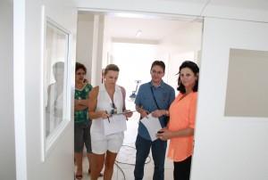 Representantes do Ministério da Saúde estão fiscalizando o andamento de obras em todo o estado; em Beltrão, UPA está praticamente concluída