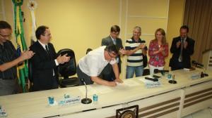 A criação do Prodetec foi sancionada pelo prefeito em exercício, Eduardo Scirea, segunda-feira, na Câmara