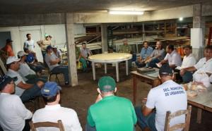 Equipes que estão trabalhando no parque se reuniram nesta sexta-feira com o secretário José Carlos Vieira