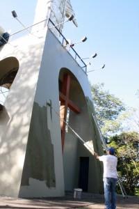 Pinturas, limpeza e reforço da rede elétrica foram feitas durante as últimas três semanas