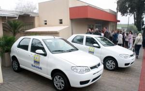 Secretaria de Saúde também recebeu dois novos veículos