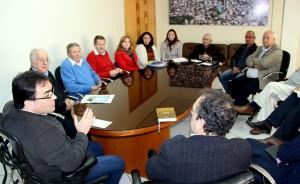 Prefeito Cantelmo Neto recebeu membros da Astec no gabinete, nesta segunda-feira