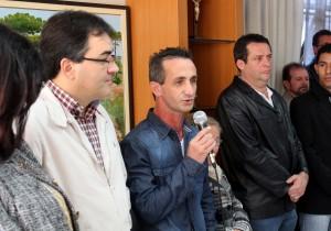 Arno Ribeiro foi empossado pelo prefeito Cantelmo Neto nesta sexta, em cerimônia no gabinete da Prefeitura