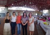 Encontro dos Clubes de Mães 2014. Realizado pela secretaria Municipal de Assistência Social. Foto: Salete Daros Cenatti, Joice Bavieira, Rose Mari Guarda, Ana Lucia Manfroi.