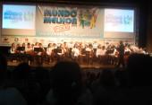Orquestra de Violinos, fez apresentação durante o evento