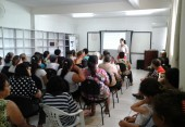 Palestra para as participantes do Programa PAIF 2014
