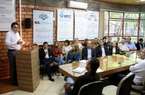 No encontro com empresários, prefeito também destacou o projeto de modernização do aeroporto e elogiou o Tá na Mesa