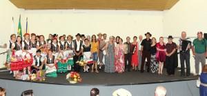 Nove apresentações de grupos de idosos marcaram a primeira edição do Festival de Talentos da Terceira Idade