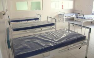 Salas de enfermaria da Upa começaram ser montadas nesta semana: custo para equipar o local é de R$ 1,15 milhão