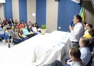 O vice-prefeito Eduardo Scirea defendeu a idade atual na abertura da Conferência dos Direitos da Criança e Adolescente, terça-feira