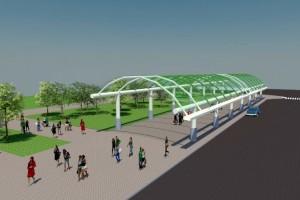 Estrutura abrangerá uma área de 687 m2 e, além de proporcionar maior conforto aos feirantes, também poderá ser utilizada para eventos diversos