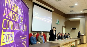 Prefeito Cantelmo Neto no lançamento do concurso, que neste ano pretende se consolidar como um dos principais do Sul do país