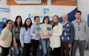 Equipe do Centro Empresarial comemorou a premiação pelo segundo ano consecutivo