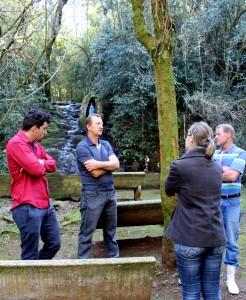 Membros da comunidade se reuniram com Semdetec e Unipar para iniciar a parceria