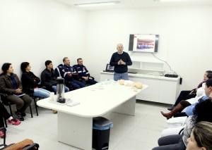 No sábado, equipes técnicas do Samu e Upa participaram de curso para unificar atendimentos