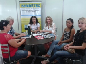 Visita Prefeitura Campo Erê - Expofeira Mulher 2015