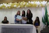 Pais, alunos e professores no encerramento de ano da Projovem
