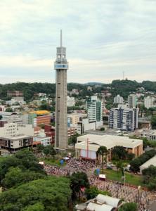 Torre recebeu reboco externo e melhorias internas, mas ainda não está liberada para visitação