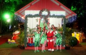 Milhares de crianças já visitaram a casa do Papai Noel