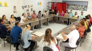 Reunião aconteceu nesta terça, na Secretaria de Assistência Social