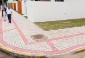 Investimento em novas calçadas é de R$ 560 mil