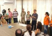 Em ato no gabinete, o prefeito em exercício Eduardo Scirea autorizou a construção do posto do Corpo de Bombeiros para a Cidade Norte, que atenderá a região com cerca de 20 mil habitantes