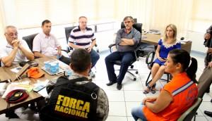 Equipe de segurança federal se reuniu nesta semana com o comitê da Prefeitura que organiza a passagem da tocha pelo município