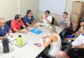 Scirea comandou reunião com equipe operacional que prepara o parque