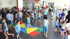 Na escola Maria Basso Delani, alunos retomaram aulas com energia