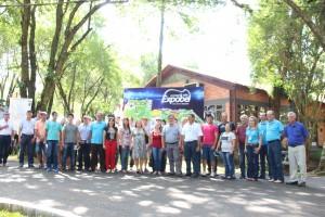 Organizadores da feira recepcionaram a caravana de um consórcio de desenvolvimento de SC