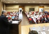 O reitor da UTFPR, Carlos Eduardo Cantarelli, destacou a atuação regional da universidade, pela qual a Embapa funcionará