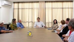 Prefeito Cantelmo Neto se reuniu com representantes das associações de moradores da Cidade Norte para apresentar o projeto e a proposta de parceria