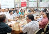 Prefeito Cantelmo Neto anunciou a concessão do terreno na primeira reunião semanal da entidade, nesta terça