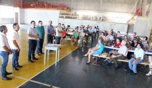 Concessão dos implementos foi feita pelo prefeito Cantelmo neto durante o Mutirão + Vida no Campo, nesta quinta
