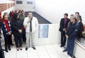 Prefeito Cantelmo Neto entregou à comunidade o novo espaço, que leva o nome do pioneiro Domingos Sartor