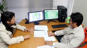 Esmeralda Gusmão e Adams Brizola, da Secretaria de Assuntos Estratégicos e Defesa Civil: Prefeitura terá um pequeno centro de monitoramento para amenizar impactos de catástrofes