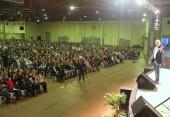 Leandro Karnal palestrou para mais de seis mil pessoas no centro de eventos