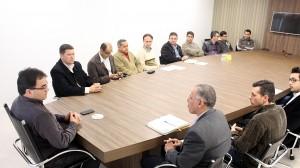 Prefeito Cantelmo Neto recebeu pastores de várias denominações para tratar do evento