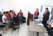 Famílias participaram do sorteio de moradias nesta quarta, na Secretaria de Assistência Social