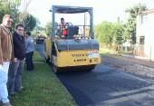 Prefeito Cantelmo Neto acompanhou os trabalhos realizados nesta semana, quando mais de 2 km de ruas foram asfaltados
