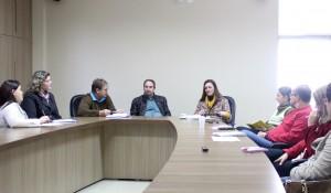 Representantes de instituições envolvidas na implantação da unidade se reuniram nesta segunda para planejar evento de instalação da Embrapa, no dia 24