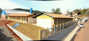 A área do antigo Atacado Industrial agora irá abrigar a nova escola São Cristóvão, construída em parceria entre a Prefeitura e governo federal e que será entregue nesta quarta