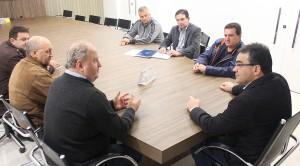 Prefeito Cantelmo Neto recebeu a diretoria do Clube União para tratar das adequações no Anilado para as disputas do Paranaense de Futebol
