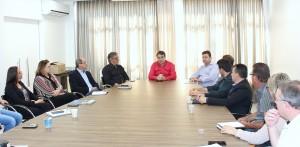 Cantelmo Neto comandou a reunião mensal do G-20, nesta terça, com secretários e diretores