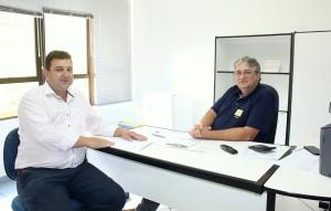 Secretários de Administração, Clécio Menegoto, e de Finanças, Luiz Geremia, alertam para o prazo do Refis: 16 de dezembro